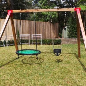Swing Sets Timber