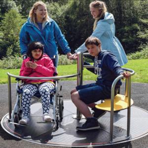 Wheelchair Playground Equipment